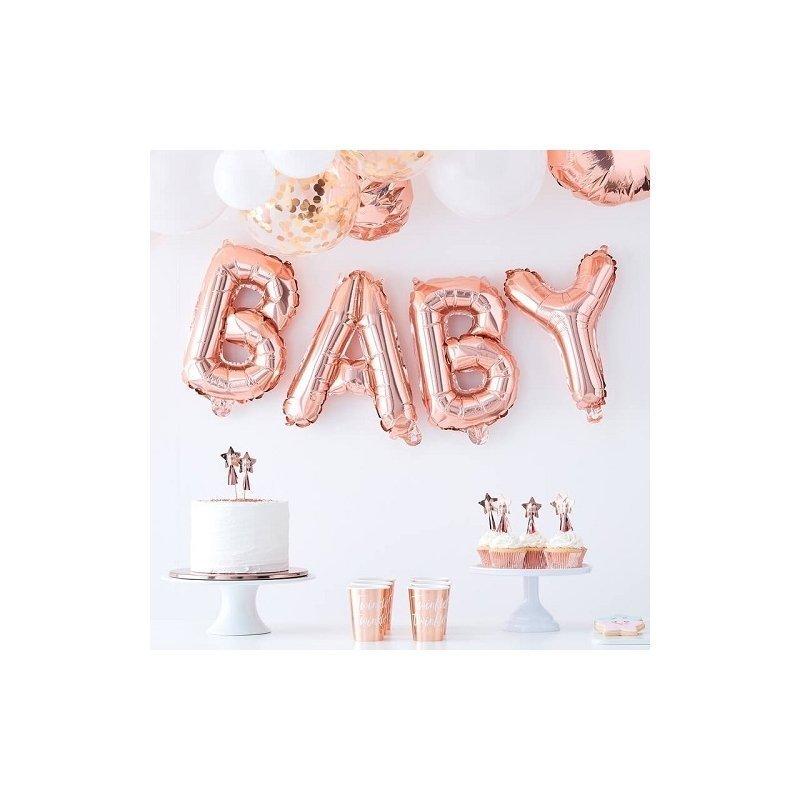 Globos Baby, Oro rosa