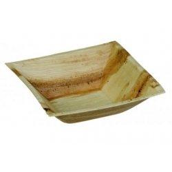 5 Cuencos-bolw cuadrados de madera. 16x16 cms