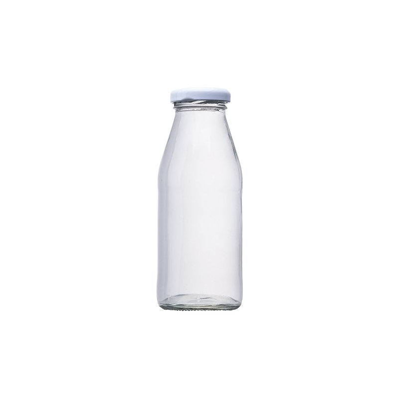 Botella de Cristal para Fiestas. 250 ml.