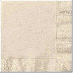 20 Servilletas de papel, marfil