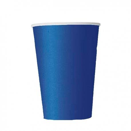 14 Vasos de papel Azul Marino