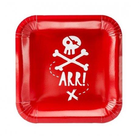 6 Platos Pirata ARR!!
