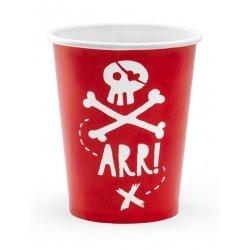6 Vasos Pirata ARR!!