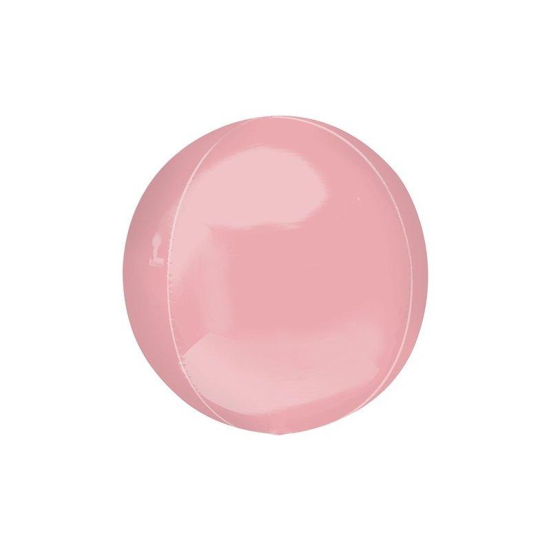 Globo órbita rosa