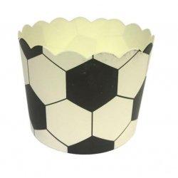 12 Tarrinas-cápsulas de papel. Fútbol