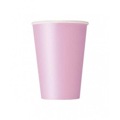 14 Vasos de papel Rosa