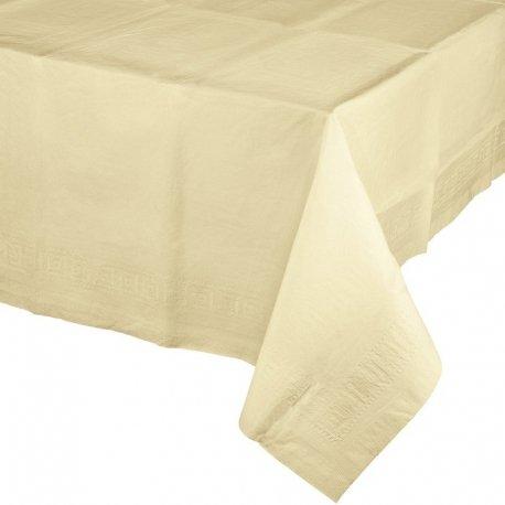 Mantel de papel Crema-Marfil 1.37x2.74 m