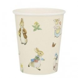 12 Vasos Peter Rabbit.