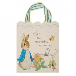 8 Bolsas de papel Peter Rabbit.