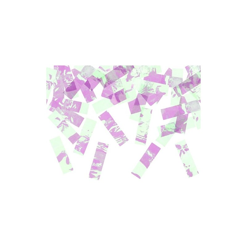 Cañón con confeti iridiscente