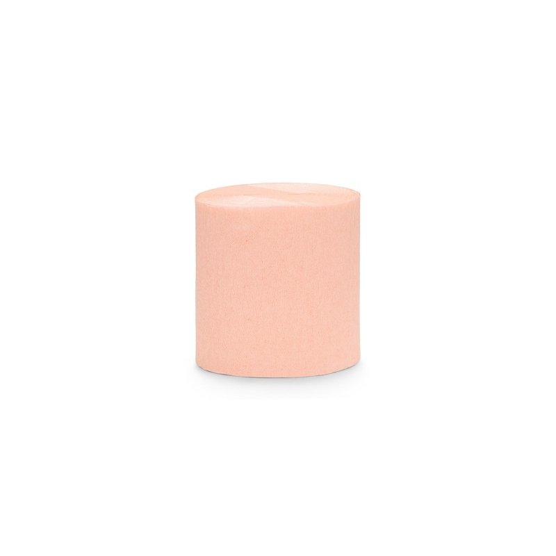 4 Rollos de cinta de papel crepé Peach