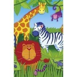 Mantel de papel. Animalitos de la selva