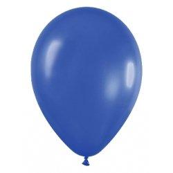 10 Globos 30 cms. Azul marino metalizado