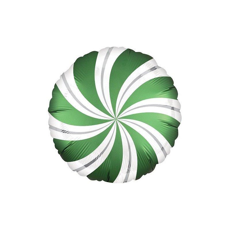 Globo metalizado Caramelo verde