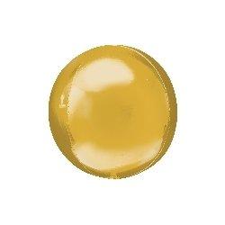 Globo órbita oro metalizado