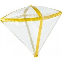 Globo Diamond transparente con filo oro