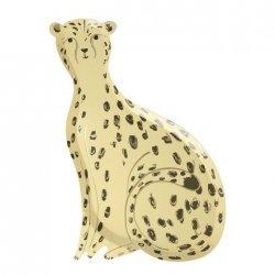 8 Platos con forma de leopardo - Fiesta Safari / Animal print