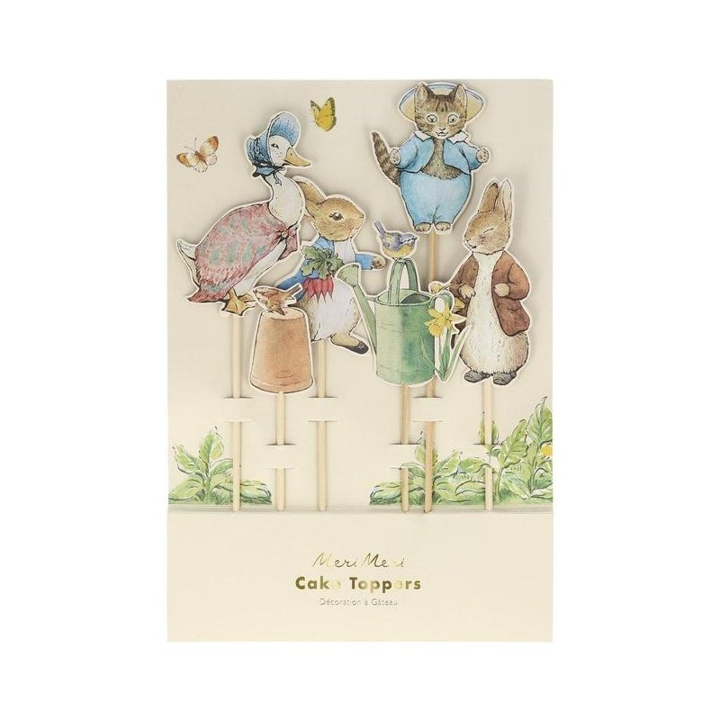 6 Toppers Peter Rabbit