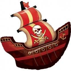 Globo barco pirata. 100 cms