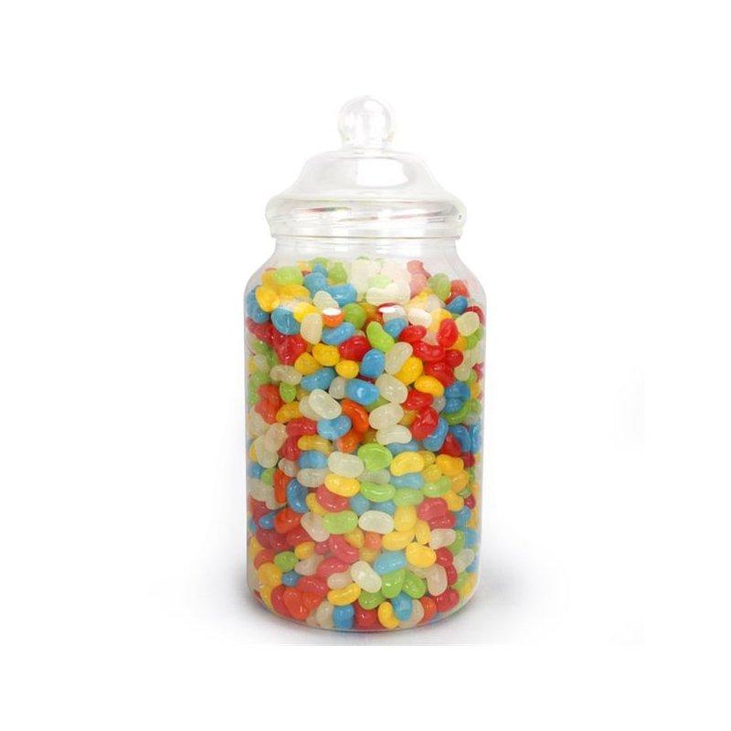 Tarro-bombonera de plástico para chuches. 30 cms