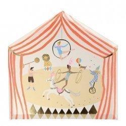 8 Platos Circo vintage