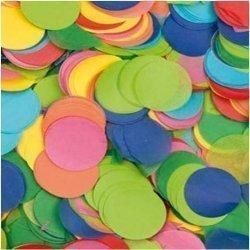 14,17 Grs de Confeti redondo en colores surtidos