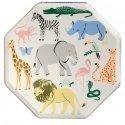 Plato-safari-selva-animales-fiesta-infantil-gramajeshop-valencia