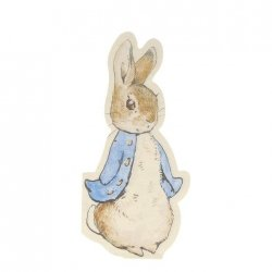20 servilletas Peter Rabbit.