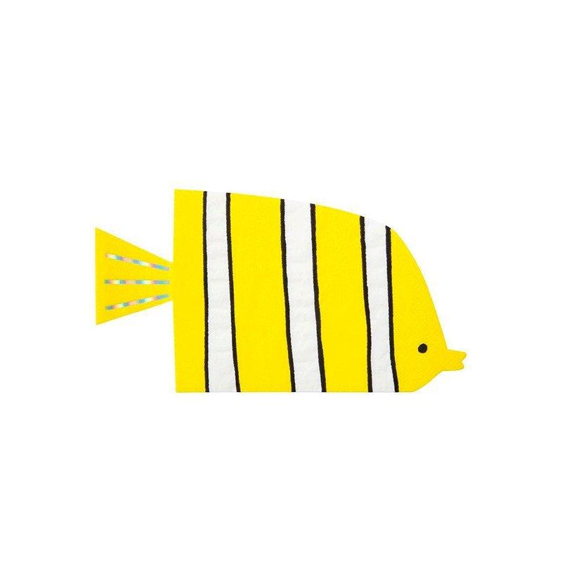 16 Servilletas pez