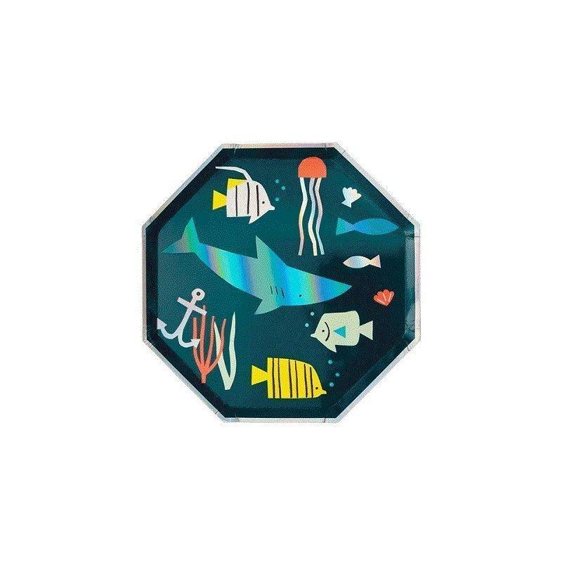 8 Platos bajo el mar