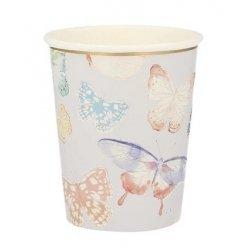 8 Vasos Mariposas