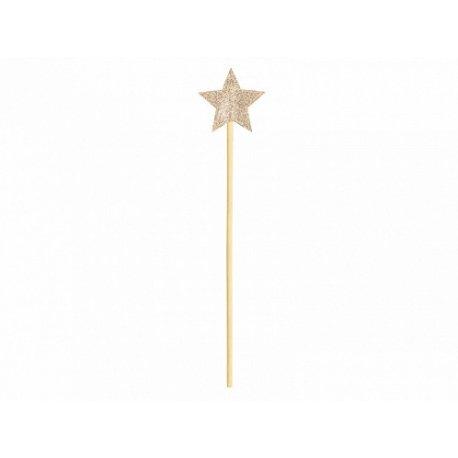 Varita mágica con estrella dorada
