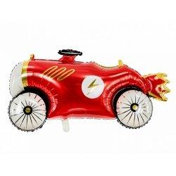 Globo coche de carreras vintage