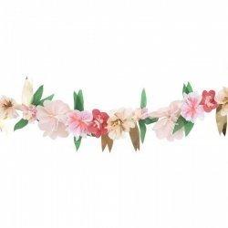 Guirnalda con flores de papel. Pretty Roses