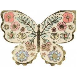 16 Servilletas en forma de Mariposa
