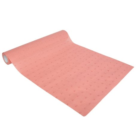 Camino de mesa plumeti rosa antiguo