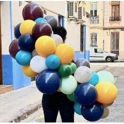 Guirnalda de globos en tonos top - Kit