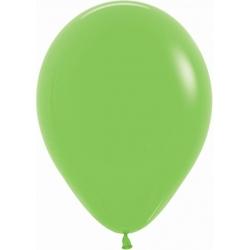 10 Globos Verde lima