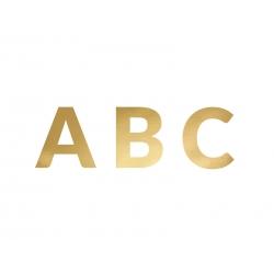 Guirnalda con letras doradas