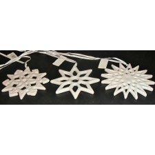 6 Colgantes surtidos. estrella cerámica