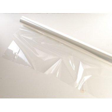 Bobina poli transparente, tipo celofán. 100 cms x 50 m.